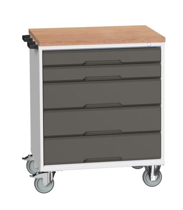 Premium workbench trolley with drawers Garageflex